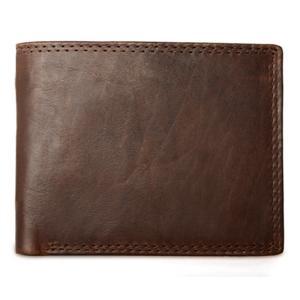 กระเป๋าสตางค์ ผู้ชาย หนังแท้ รุ่น M Ven Leather Brown