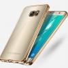 เคสซัมซุง case samsung s7 วัสดุ TPU soft case ขอบสีทอง