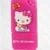 แฟลชไดร์ฟคิตตี้(Kitty) สีชมพู สีเหลี่ยม ความจุ 8 GB.