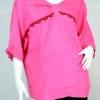 SOTA เสื้อทรงกว้างสีชมพู