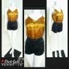 เสื้อสายเดี่ยวผ้าซาติน :Dark Gold สีทองเข้ม เสื้อสายเดี่ยว ยอดฮิต ใส่MATCH กับกางเกง หรือ กระโปรงได้หลายแบบ ใส่ตอนไหนก็ฮอต ไม่เคยOUT ดีไซน์ด้านหน้าและหลังเรียบๆ งานละเอียด ดีเทลสวยหรู