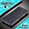 เคส lenovo vibe k5/k5plus เคสหนังพับpu ลาย water cube