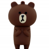 แฟลชไดร์ฟไลน์ หมีบราวน์ (Line Brown) 8 GB