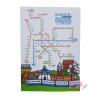 สมุดโน้ต Taiwan Metro Map Plain Notebook