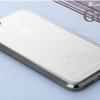 เคสไอโฟน6/6s เคสขอบซิลิโคนโดดเด่น+TPUใสด้านหลัง gray