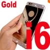 เคสไอโฟน 6/6s วัสดุ TPU ชุบโลหะไฟฟ้า หรูหราสวยงาม สีทอง
