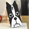 เคส oppo find7 เคสซิลิโคนการ์ตูนรูปหน้าสุนัขน่ารัก แบบที่2