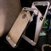 เคสไอโฟน 5/5s ด้านหลังกระจกประดับเพชร
