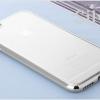 เคสไอโฟน6/6s เคสขอบซิลิโคนโดดเด่น+TPUใสด้านหลัง silver