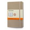 สมุดโน้ต Moleskine Soft Cover มีเส้นบรรทัด ปกอ่อน สีเทา ขนาด Pocket
