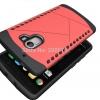 เคส lenovo k4note เคสวัสดุ TPU+PC ประกอบสองชิ้น ฝาหลังสีแดง