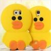 เคสซิลิโคนไอโฟน 6/6s ตัวการ์ตูนเป็ดสีเหลือง