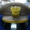 หมวกหม้อตาลสีกากีชาย หน้าครุฑ