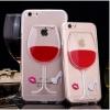 เคสไอโฟน 6/6s TPU รูปแก้ไวน์ด้านหลัง