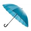 30'' 16 Ribs Big Size Walking Umbrella ร่มยาวขนาดใหญ่ต้านลมแรง16ก้าน30นิ้ว-ฟ้า