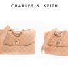 Charles&Keith รุ่น CK2-7070008 สีดำ สีเบจ