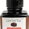 หมึก D Ink 30ml. J.Herbin - สีกาแฟ Cafe des Iles 46