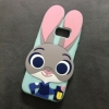 case samsung s7 เคสซิลิโคนกระต่ายจูตี้จากการ์ตูน zootopia