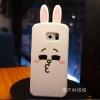 case samsung s6 edge เคสการ์ตูนกระต่ายโคนี่ซิลิโคนเคส