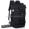 กระเป๋าเป้ backpack 40L ผ้า 1680D กันน้ำ ถือได้ สะพายหลัง-ข้างได้ รุ่น Caravan