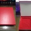 กล่องใส่อินทรนู/เครื่องราชย์ สีแดง