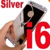เคสไอโฟน 6/6s วัสดุ TPU ชุบโลหะไฟฟ้า หรูหราสวยงาม สีเงิน