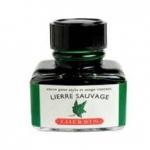 หมึก D Ink 30ml. J.Herbin - สีเขียว Lerre Sauvage 37