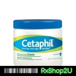 Cetaphil Moisturizing Cream 453g ครีมบำรุงผิวสำหรับผิวผู้มีอาการแพ้ง่าย ผิวหน้าแห้ง หรือผิวหนังอักเสบ ได้รับการยอมรับยืนยันทางการแพทย์แล้ว