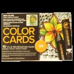การ์ดระบายสี Chameleon Coloring Cards - Zen