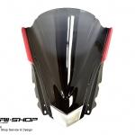 Windshield หน้า สำหรับ Yamaha R3 ทรง Robot