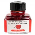 หมึก D Ink 30ml. J.Herbin - สีแดงส้ม Rouge Caroubier 22