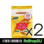 (ซื้อคู่ ราคาพิเศษ) (Refill) รุ่นใหม่ Meiji Amino Collagen Premium 30วัน เมจิ คอลลาเจน รุ่นพรีเมียม สีทอง เพิ่มเซรามิโดะ + Hyaloronich + Q10 + Vit C