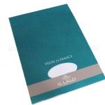 สมุด สำหรับปากกาหมึกซึม G.Lalo A4 100g. (ผิวเรียบ)