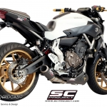ท่อ SC PROJECT CR-T SILENCERS FULL-SYSTEM FOR YAMAHA MT07