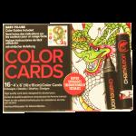 การ์ดระบายสี Chameleon Coloring Cards - Tattoo