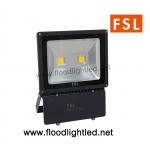 LED Floodlight 100w FSL แสงวอร์มไวท์ (แสงสีส้ม)