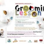 Up Coming Grooming Seminar & Workshop วันที่ 17 สิงหาคม 2015 - Banten - Indonesia