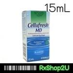 Cellufresh MD 15ML น้ำตาเทียม by Allergan เซลลูเฟรช น้ำตาเทียม สำหรับคนตาแห้ง สามารถใช้หยอด ได้ตลอดวัน ขวดขนาดเล็ก สามารถพกพาไปได้ทุกที