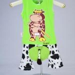 ชุดวัวซามูไร-เขียว