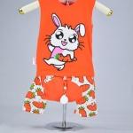 ชุดกระต่าย-ส้ม