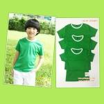 ปลีกตัวละ 50 บาท ไซส์ M เสื้อกีฬาสีเด็ก เสื้อกีฬาเปล่าเด็ก เสื้อกีฬาสีอนุบาล สีเขียว