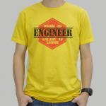 T-Shirt Printed : EP.01 พิมพ์หมึกสีเข้มลงบนเสื้อสีอ่อน