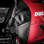 การ์ดหม้อน้ำ Ducati Panigale 899 MOTOPLAY