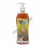 สบู่น้ำผึ้ง (สบู่เหลว) สูตรขมิ้นชัน จากน้ำผึ้งและสมุนไพร Ramaiporn รมัยพร