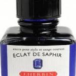 หมึก D Ink 30ml. J.Herbin - สีน้ำเงินสว่าง Eclat de Saphir 16