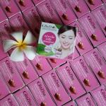 สบู่ล้างหน้า จินซู เมือกหอยทากฟองยืด.. ## GinZhu Cleansing Mix Soap## กล่องชมพู