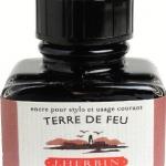 หมึก D Ink 30ml. J.Herbin - สีแดงม่วง Terre de Feu 47
