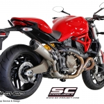 ท่อ SC PROJECT CONIC Silencer for Ducati Monster821