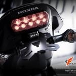 ท้ายสั้น Motorun พร้อมแป้นยึดไฟเลี้ยวและไฟส่องทะเบียน สำหรับ Honda CB650F/CBR650F