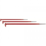 ROLLING HEAD PRY BAR SET(3-PCE)